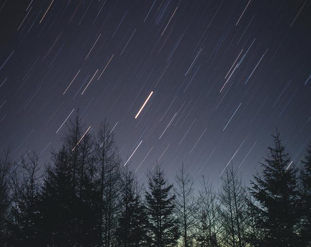 昇る木星とししの大釜