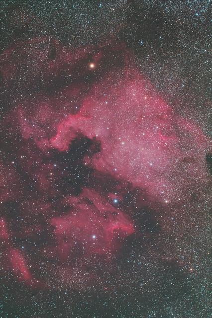 北アメリカ&ペリカン星雲