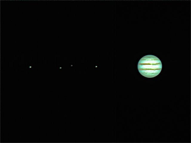 木星の四大衛星